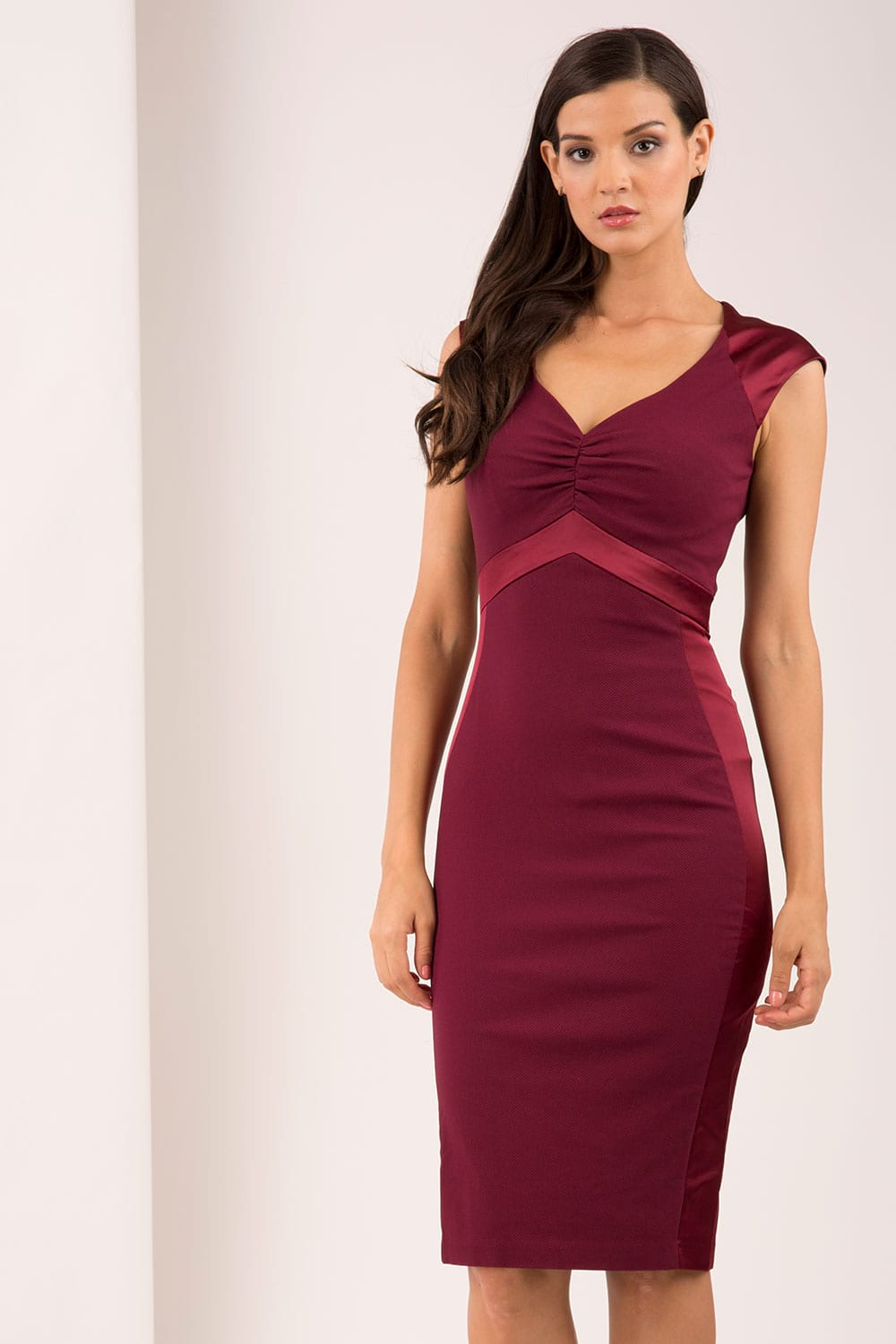 Hybrid Fashion Sally 1187 Sweetheart Neckline Pencil Dress