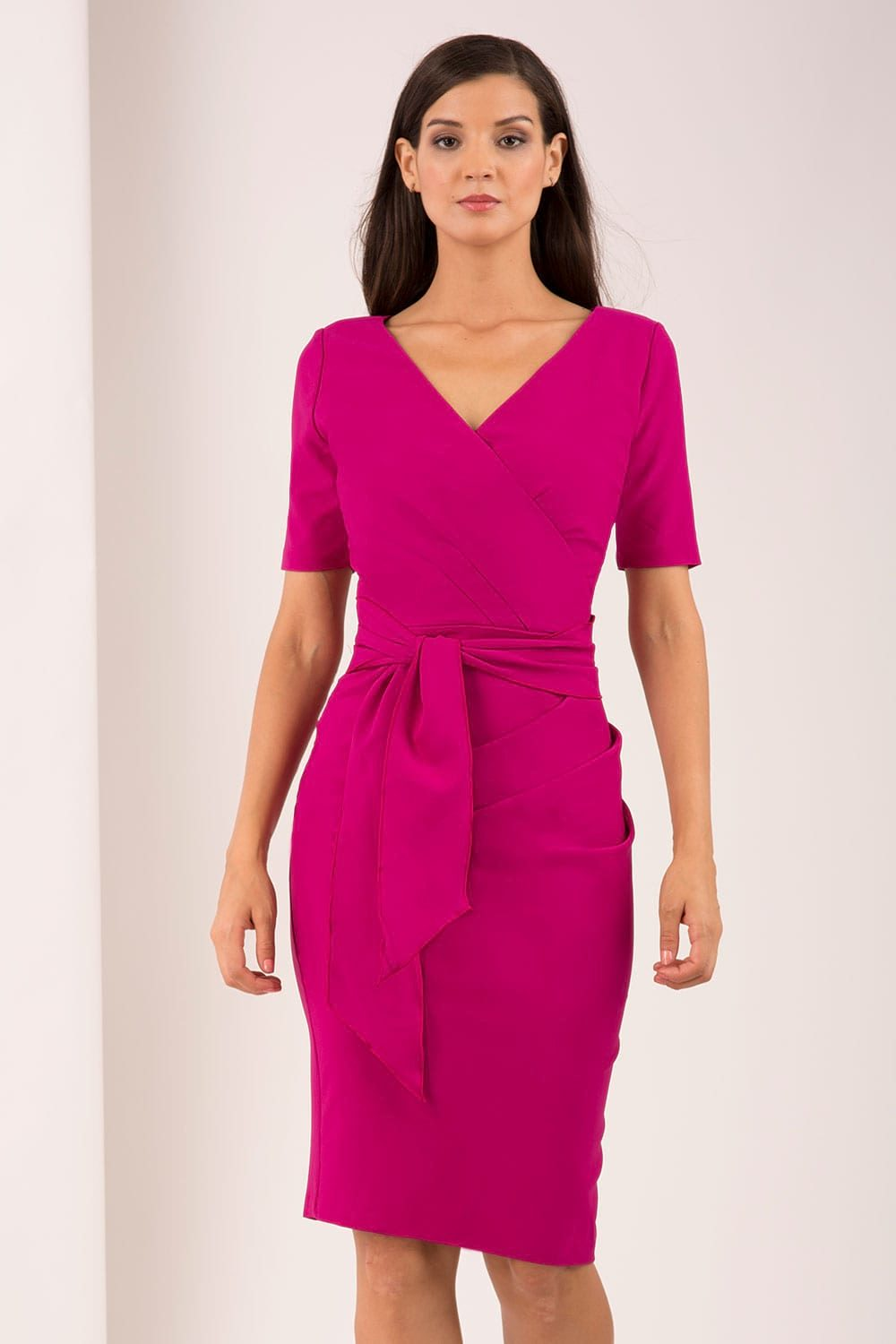 Hybrid Fashion Liv Wrap Pencil Dress