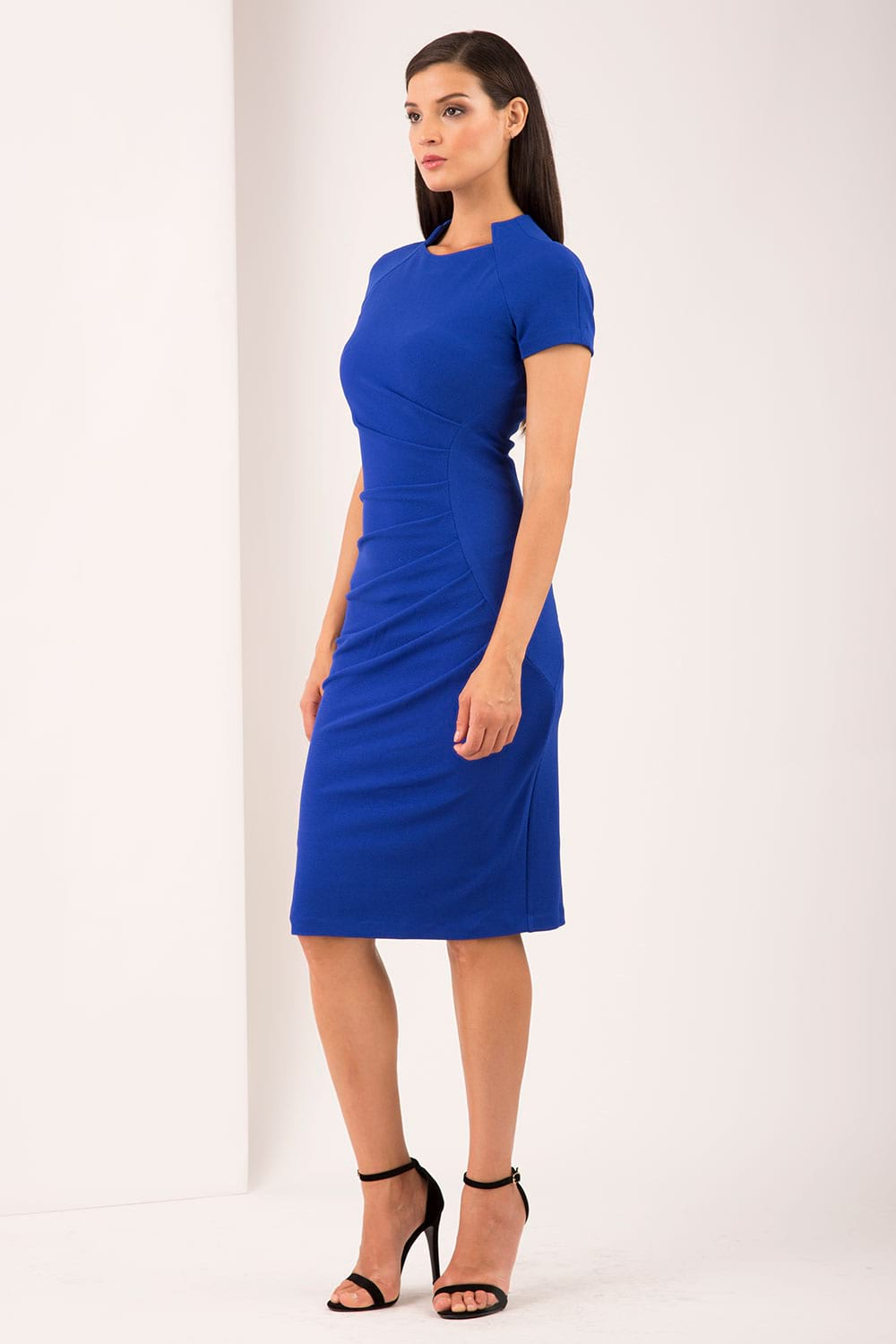 9ace79b0645 Hybrid Jourdan High Neck Pencil Dress - Hybrid Fashion