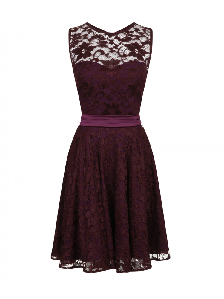 Hybrid Fashion 1077 Bethany Lace Skater Dress