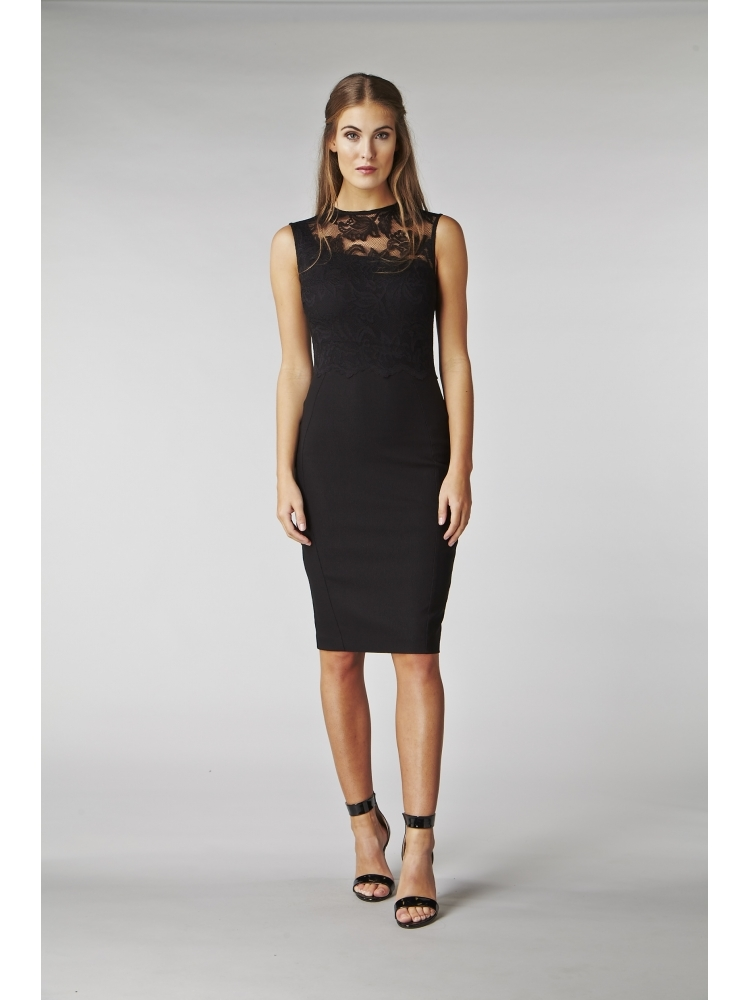 12809c1f34c Hybrid Issa Lace Pencil Dress - Hybrid Fashion