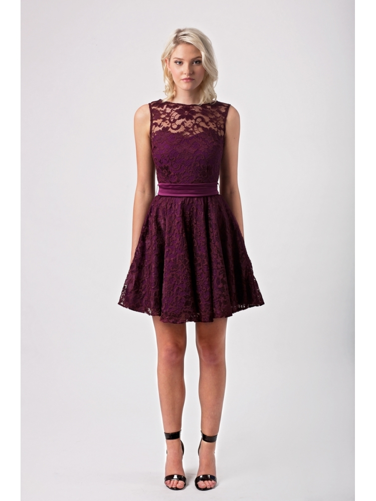 Bethany Lace Skater Dress Hybrid Fashion