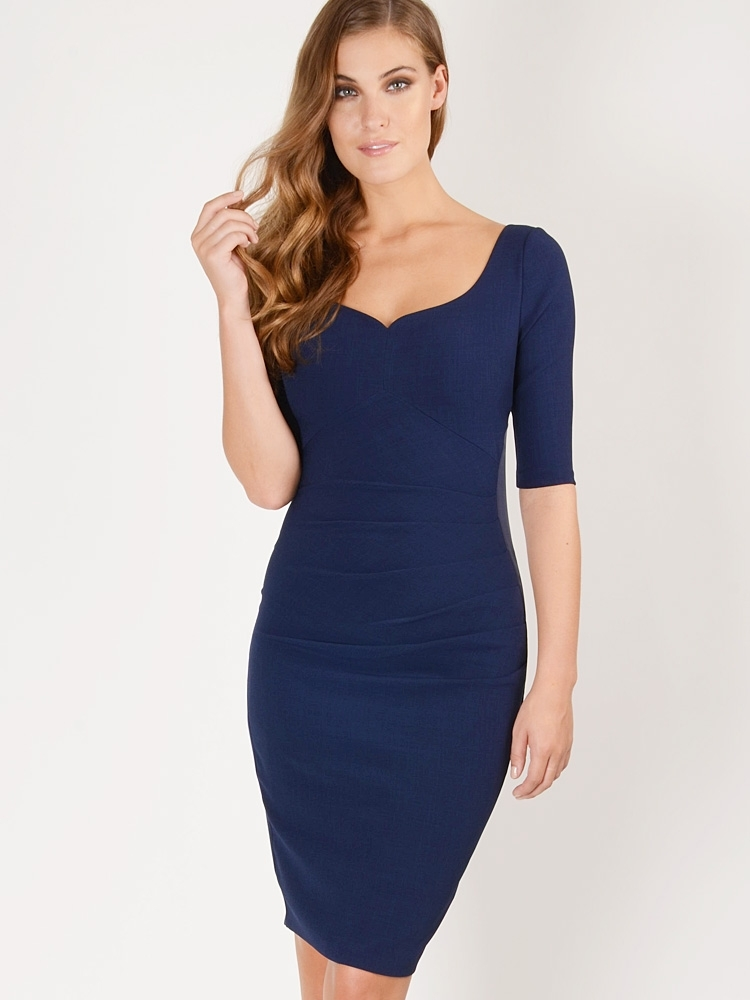 Hybrid Fashion 1261 Maura Crepe Sweetheart Dress