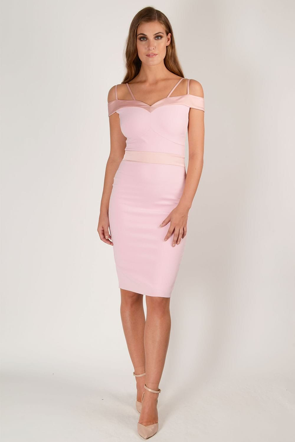 Hybrid Fashion Kristen 1195 Bodycon Dress with Double Straps