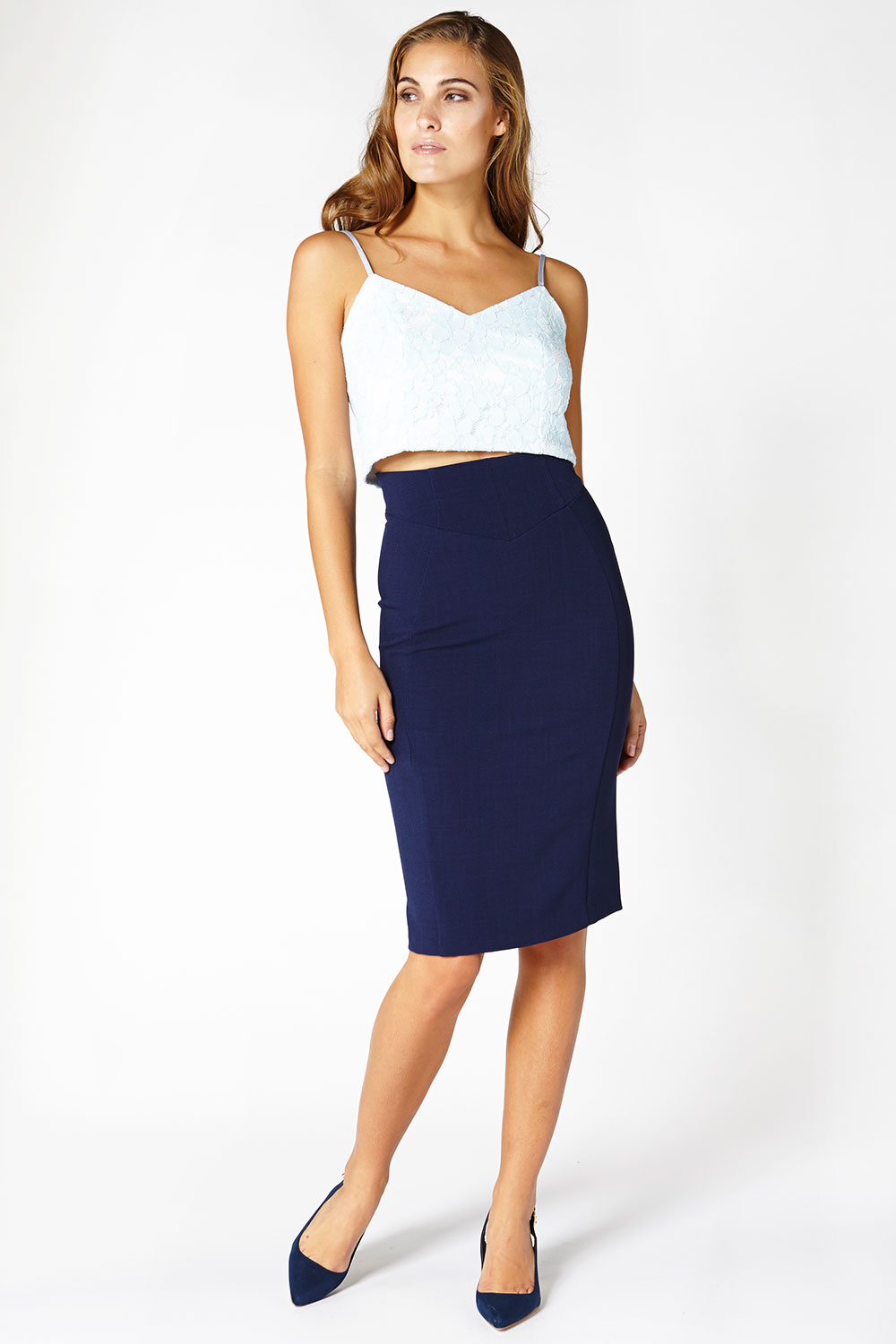 Hybrid Fashion 1198 Beline High Waisted Skirt