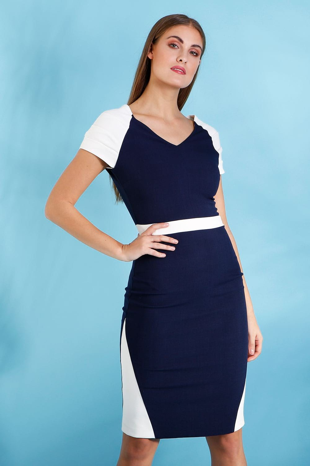 Hybrid Fashion 1276 Hailey Raglan Sleeve Dress