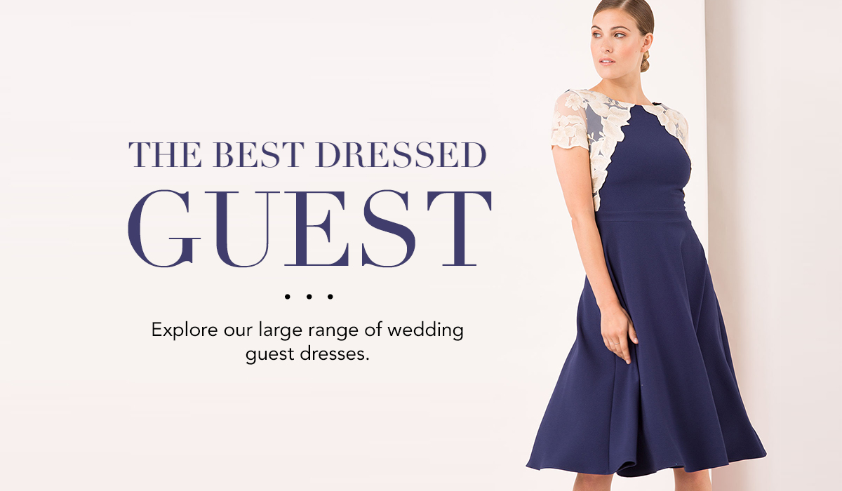 wedding guest dresses banner