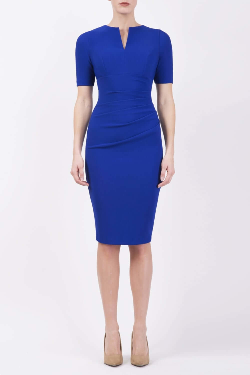 lydia-short-sleeved-pencil-dress-p197-36350_zoom cobalt 1