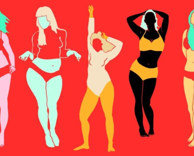 illustration by Diego Sabogal of women with different body types